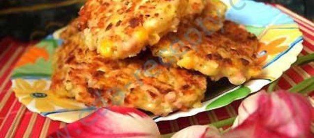 Рецепт вкусных оладушек из тыквы