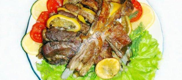 Рецепт мяса в картофельной корочке