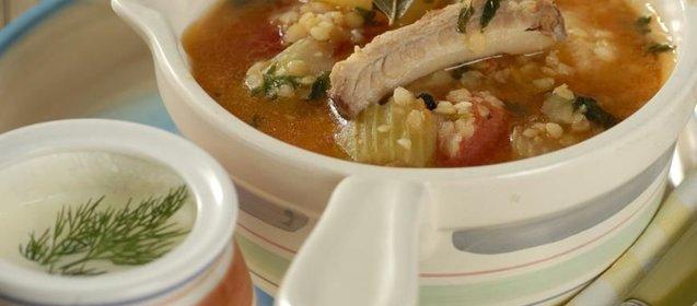 Суп из чечевицы с бараниной рецепт пошагово