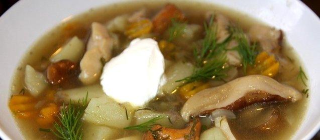 Как приготовить суп с шампиньонов видео
