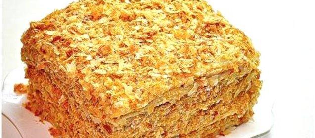 Торт на кефире рецепт с фото простой