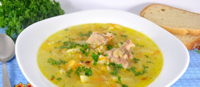 Суп с курицей и рисом рецепт пошагово с фото