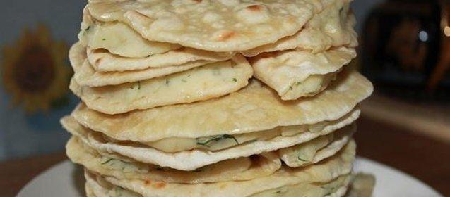 лепешка татарская рецепт с фото