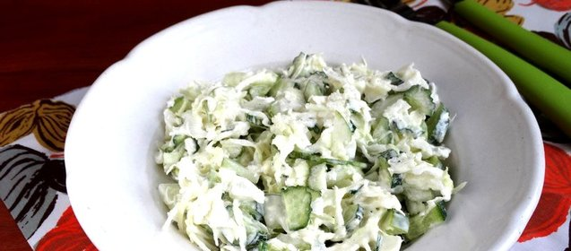 Салат с кольраби рецепт с