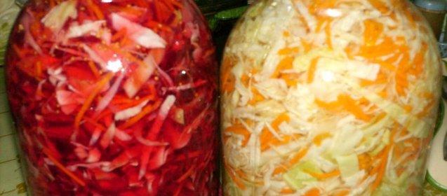 Маринованная капуста рецепт с фото