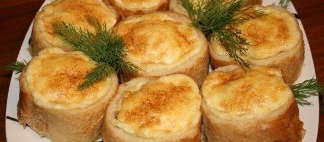 Конвертики с сыром из слоеного теста пошаговый рецепт