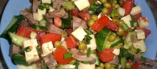 Кулинарные рецепты салаты с языком