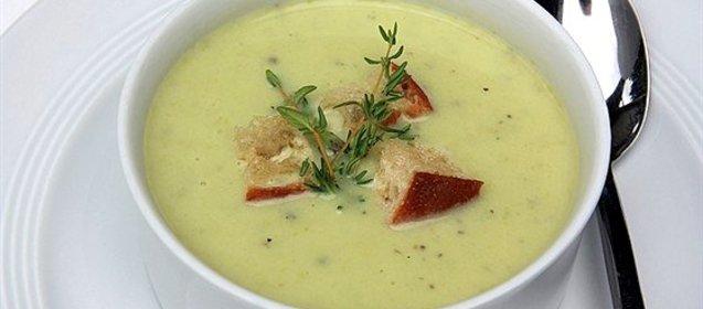 Суп пюре из кабачков пошаговые рецепты с