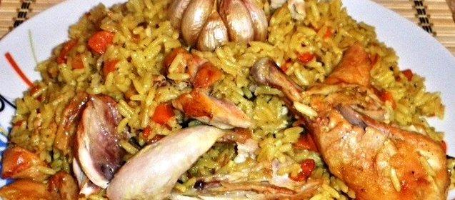 Плов с куриными голенями рецепт с фото пошагово