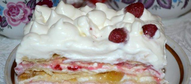 Крем для торта сметанный простой рецепт с пошагово