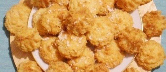 Печенье с ананасами рецепт с фото