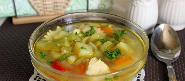 Куриный суп с овощами рецепт с пошагово