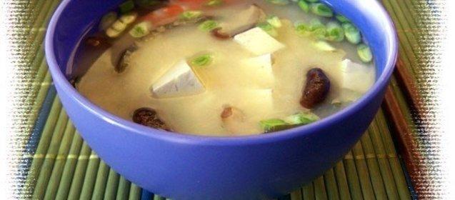 Мисо суп рецепт пошагово с