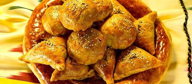 Самса с картошкой и курицей пошаговый рецепт с в