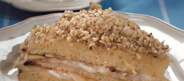 Банановый торт рецепт с пошаговый рецепт