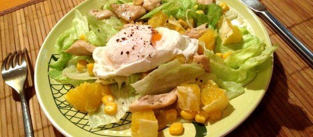 Салат из куриной грудки рецепт с очень вкусный с