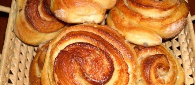 Простой булочек в домашних условиях с фото