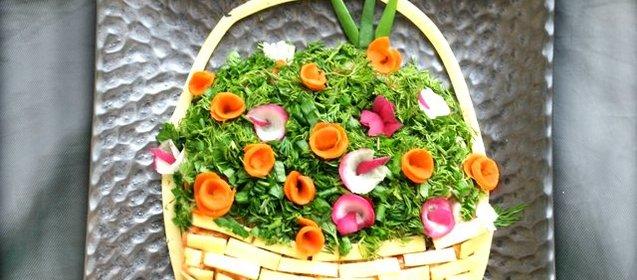 Салат корзинка рецепт и