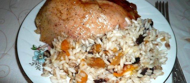 Рис курица рецепт с пошагово в