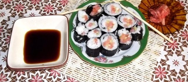 Японская кухня рецепты с фото пошагово