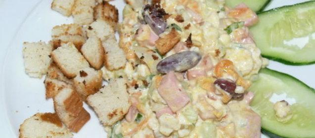 Фасоль с индейкой рецепт фото