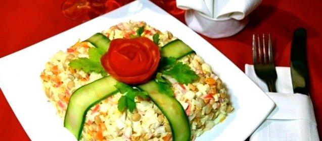 Салаты и горячие блюда на день рождения рецепты с