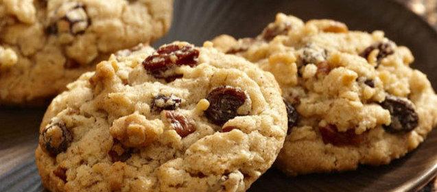 печенье с изюмом рецепты с фото простые и вкусные