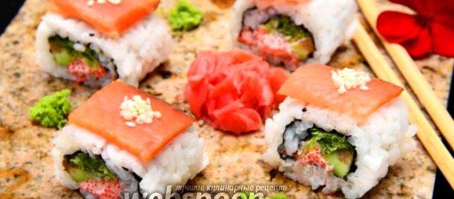 Роллы рыбой рецепт фото