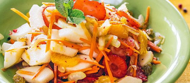 Салаты на основе овощей рецепты