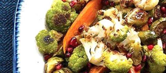 Рецепт салата с жареными овощами фото