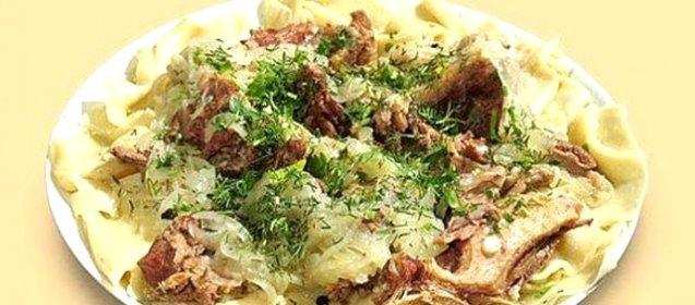 бешбармак из баранины пошаговый рецепт с фото