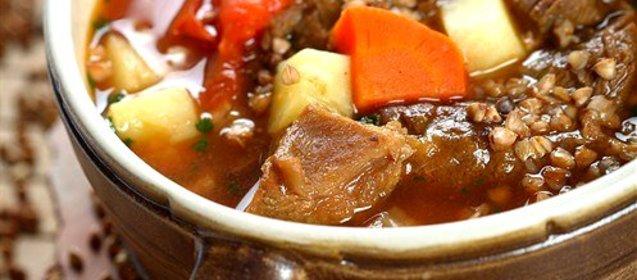 Горшочки с курицей грибами и гречкой рецепт с пошагово