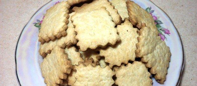 Простыеы печенья с пошаговым фото
