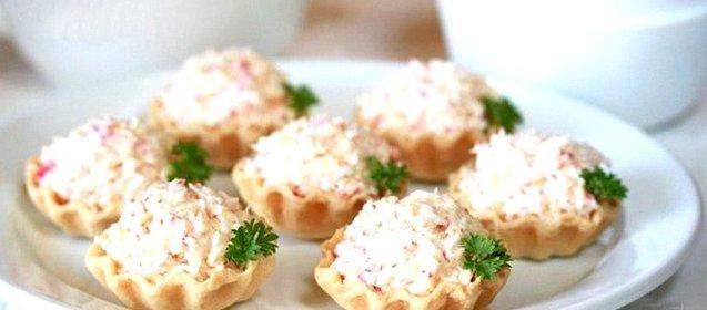 Начинка для тарталеток рецепты простые и вкусные с икрой
