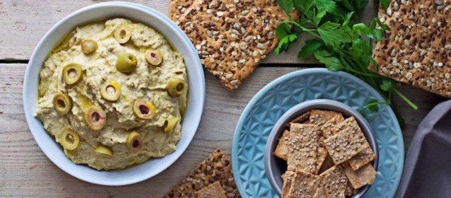 Рецепт хумуса с пошаговыми фото