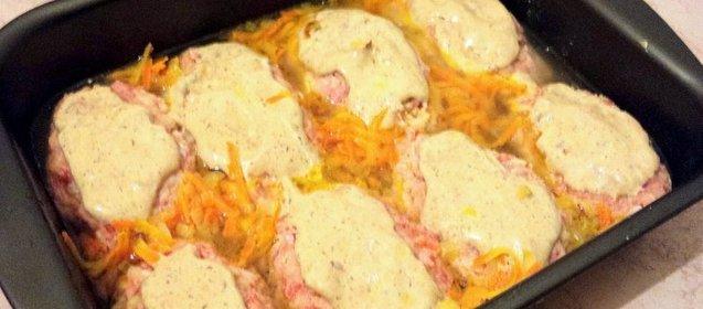 Голубцы в духовке рецепт пошагово с в майонезе