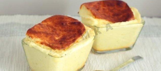 Сырное суфле с фото пошагово