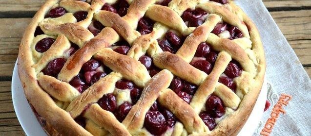 Пирожки с вишней рецепт с фото пошагово