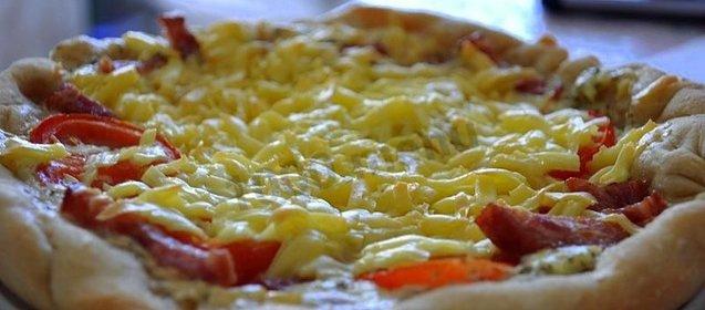 пицца в мультиварке пошаговый рецепт с фото