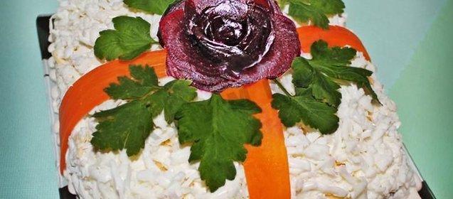 салат вдохновение рецепт и фото