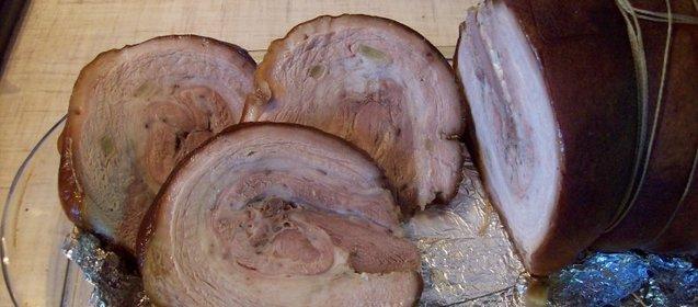 Свинина грудинка в духовке рецепты с фото