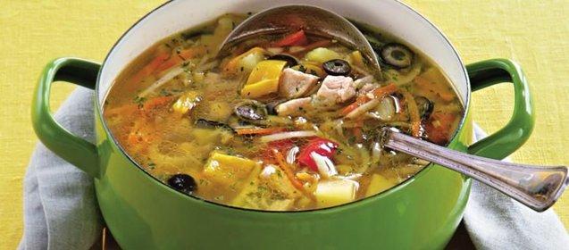 Приготовить суп из индейки вкусно