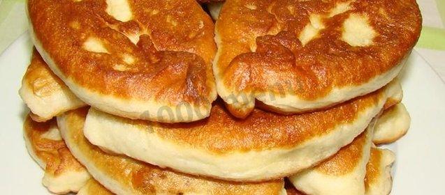 Рецепт пирожков на кефире без дрожжей в духовке рецепт