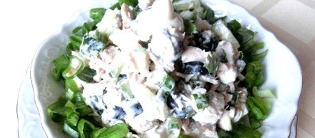 салат лесная поляна с пошаговым фото