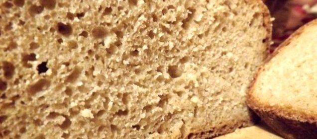 Хлеб без дрожжей и муки рецепт