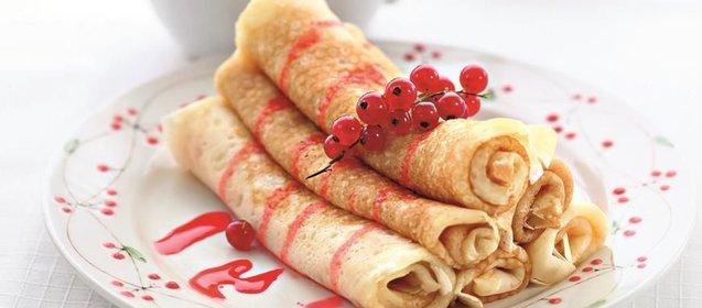 Блины на сливках рецепт с фото пошагово