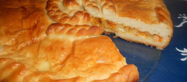 Пирог с капустой рецепт с фото пошагово в духовке штолле