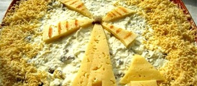 Рецепт салата мельник