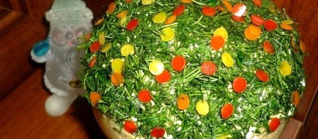 новогодние салаты 2010 с фото
