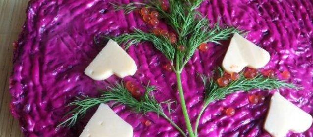 Рецепты слоеных мясных салатов с простые и вкусные